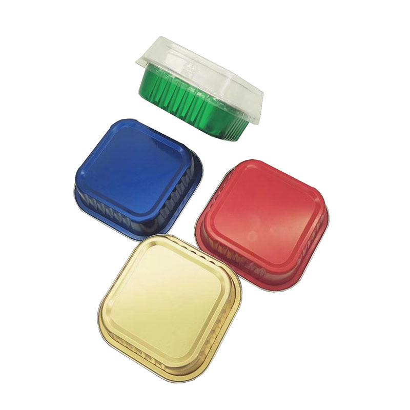正方形锡纸盒