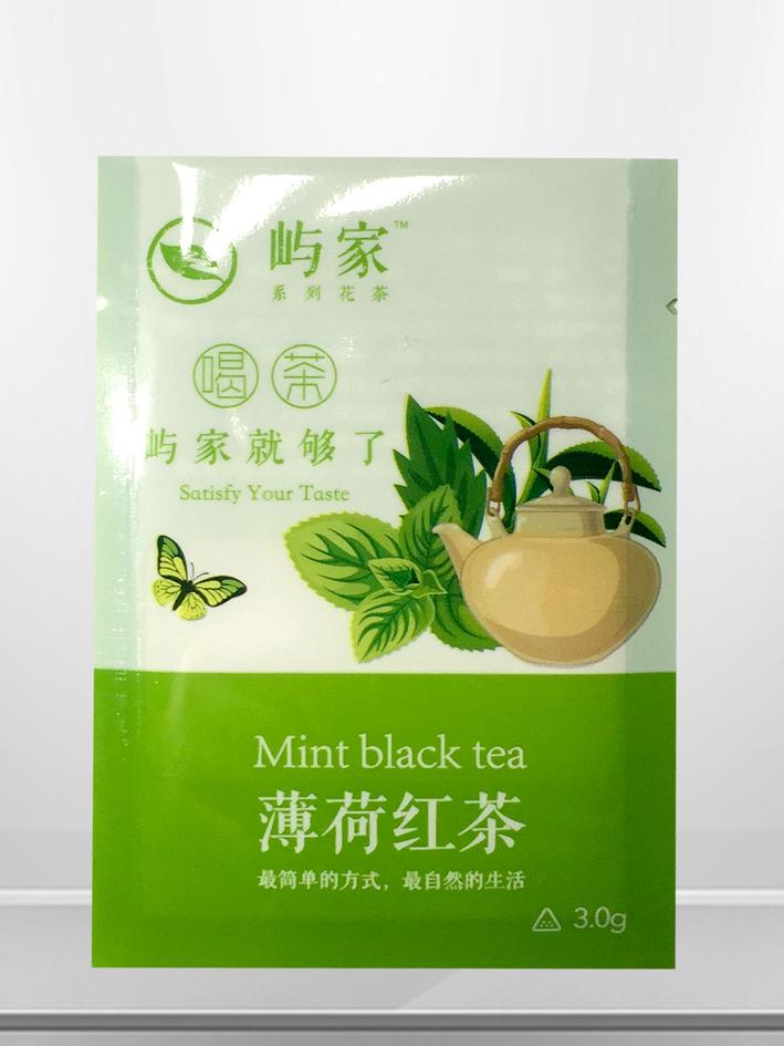 薄荷红茶三边封袋