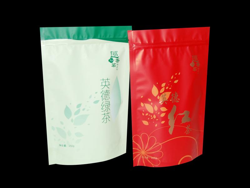 绿茶自立袋 包装印刷
