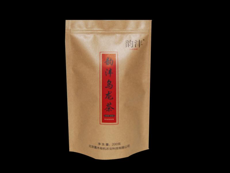 乌龙茶自立袋
