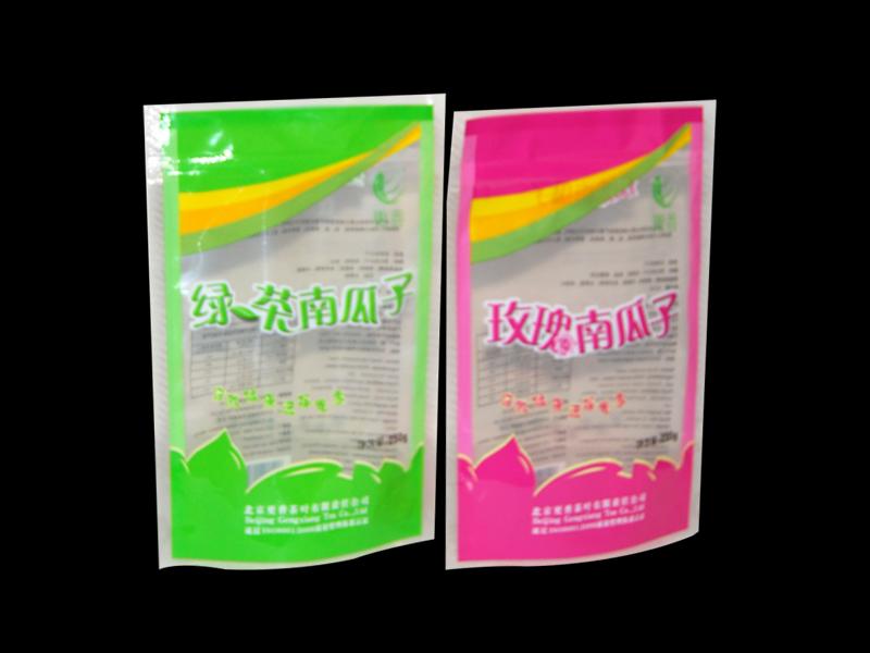 玫瑰花茶自立袋 印刷