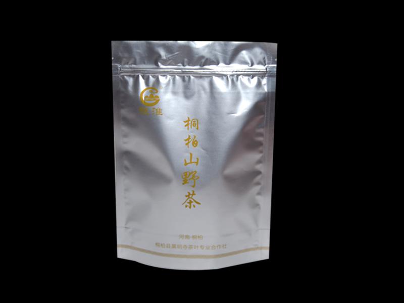 山野茶自立袋 设计