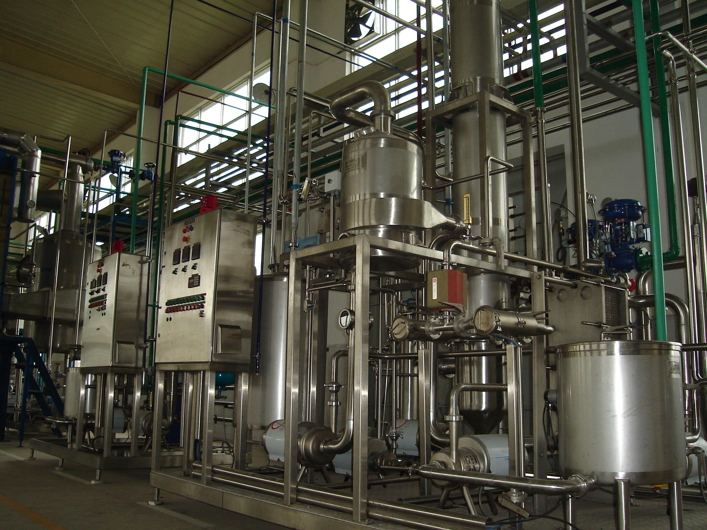 浓缩果汁香精回收装置精油提取设备