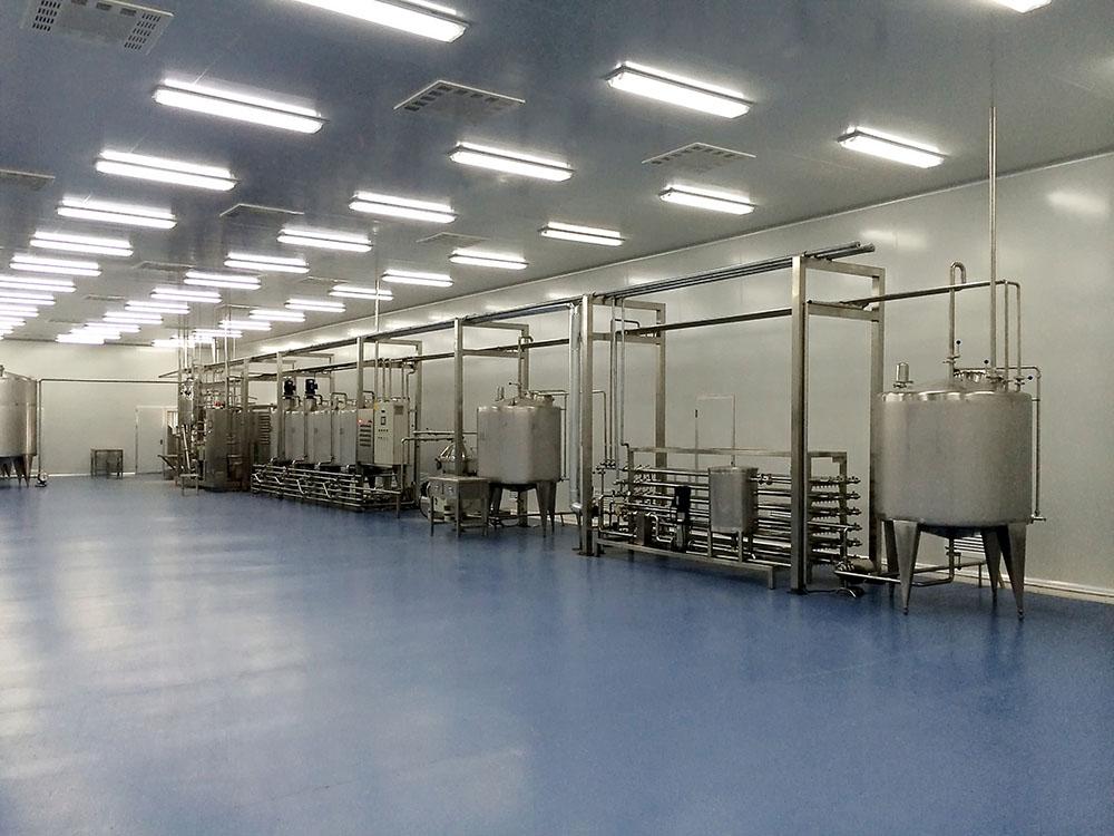 秋葵汁生产线