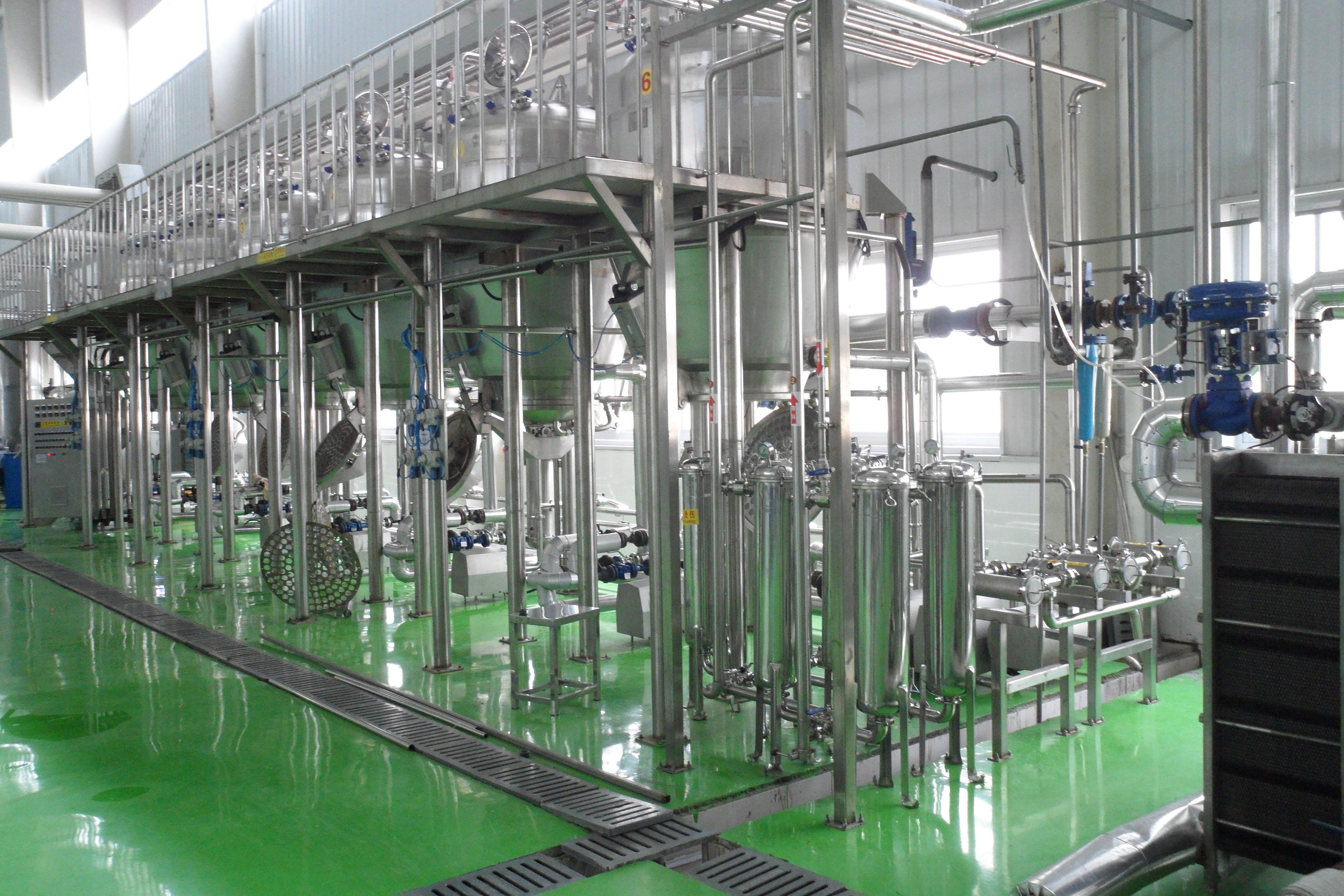 果蔬汁饮料生产线