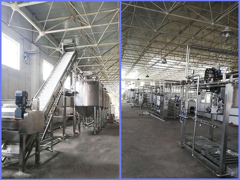 红枣浓缩汁生产线