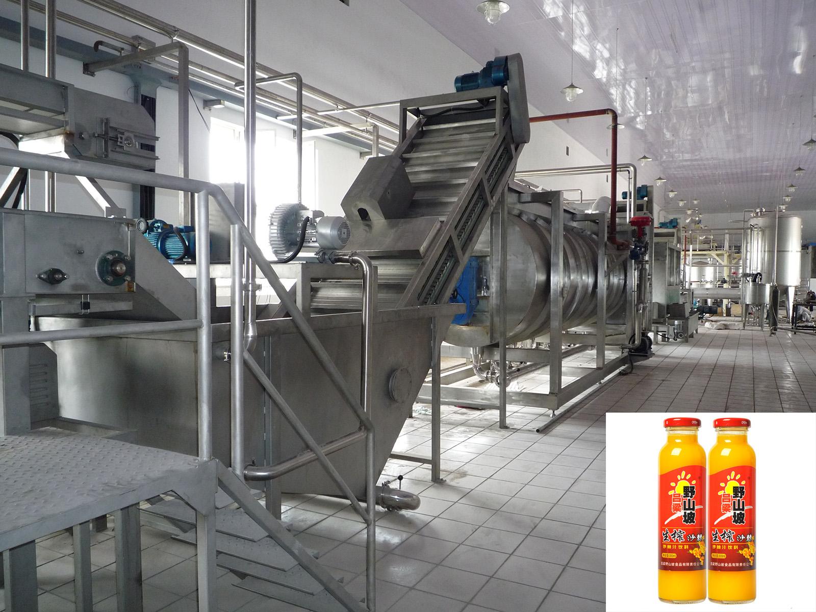 沙棘果汁生產線