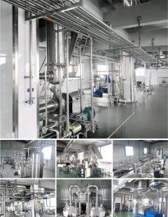 钙果汁生产线