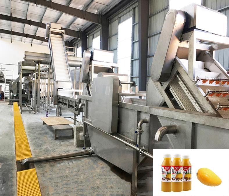 芒果汁生產線