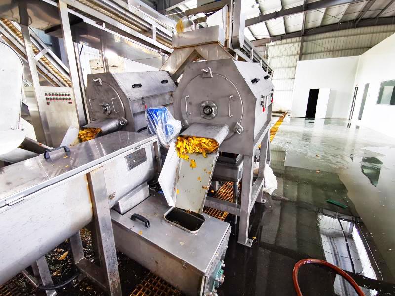 芒果汁生产线前处理设备