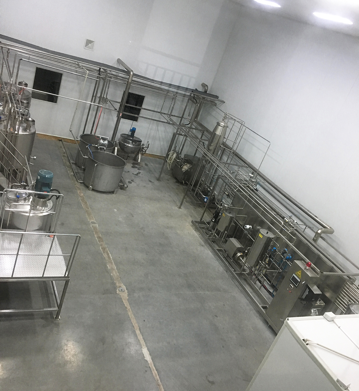 蓝莓汁加工生产线前处理设备