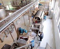 红枣汁加工生产线