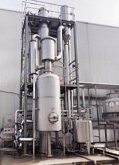 單效降膜蒸發器
