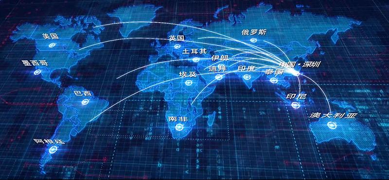 中控智慧智能鎖全國銷售網絡布局