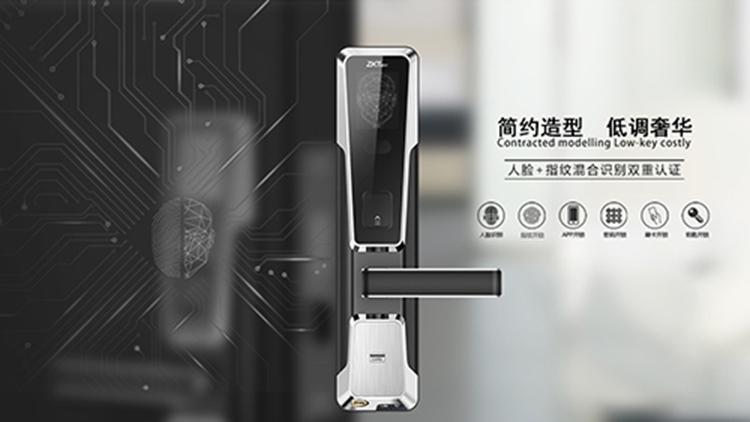 智能鎖界的又一強者——中安樂客全曲面屏智能指紋鎖Z2