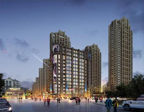 城中·中央華府項目采用中安樂客TL200智能鎖