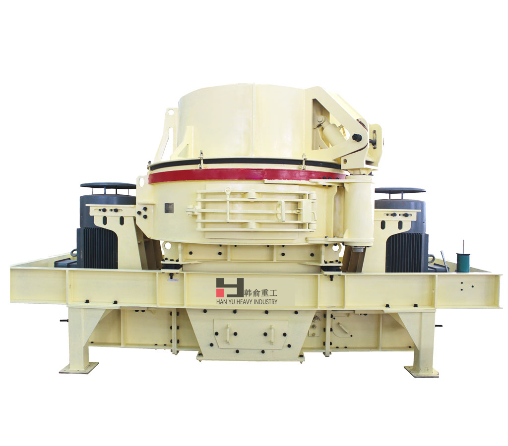 VB series plastic sand making machine