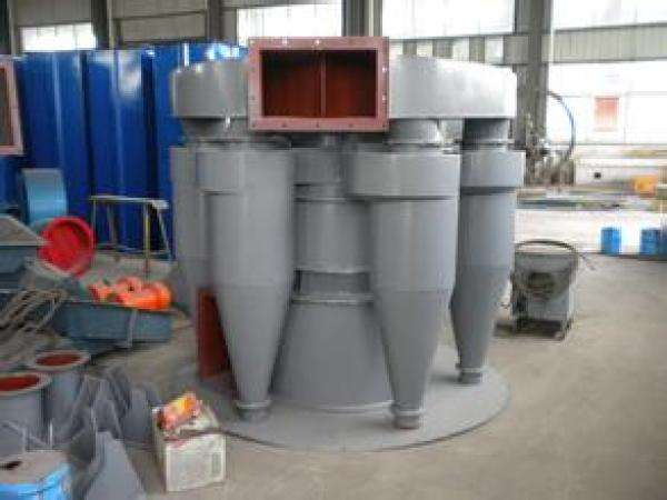 High efficiency sand powder separator