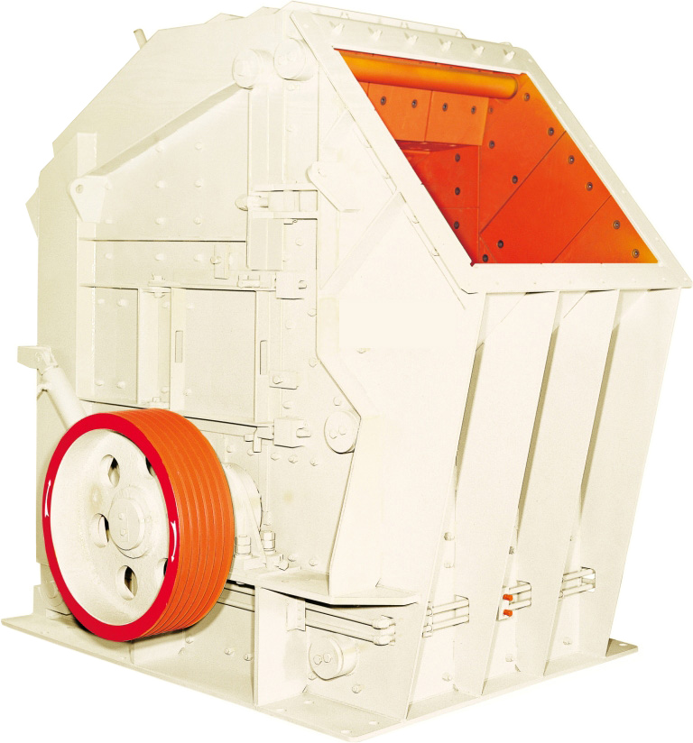 European version of hydraulic counterattack crusher