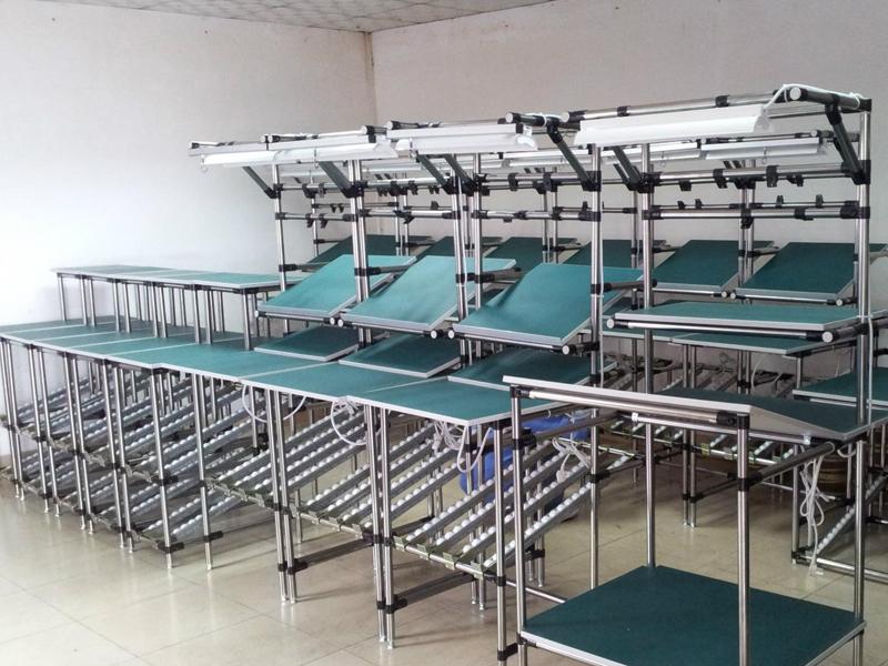 工厂从传统传输带流水线向亚博体育在线投注单元生产线转变