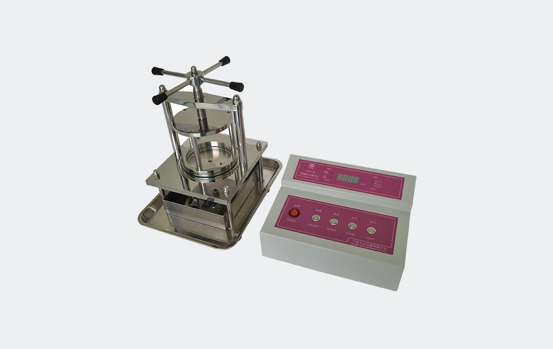 YG825型织物静水压测试仪