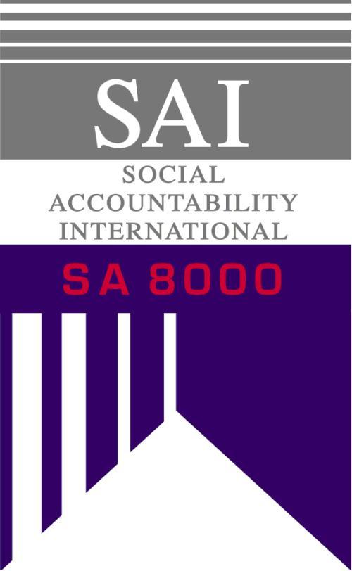 实施SA8000认证的益处