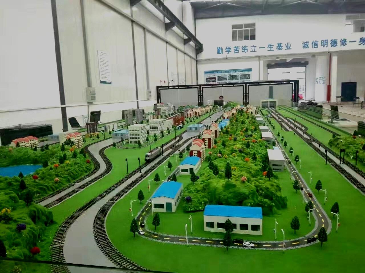 轨道交通模拟模型