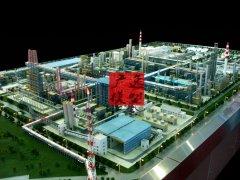 煤基烯烃沙盘模型