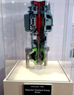 三菱PWR反应堆冷却泵模型