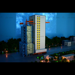发射场模型