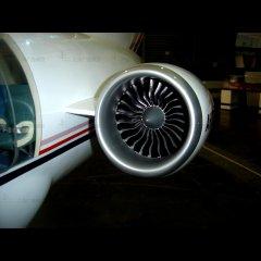 飞机引擎模型