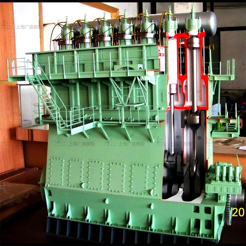 熔盛重工柴油机1模型