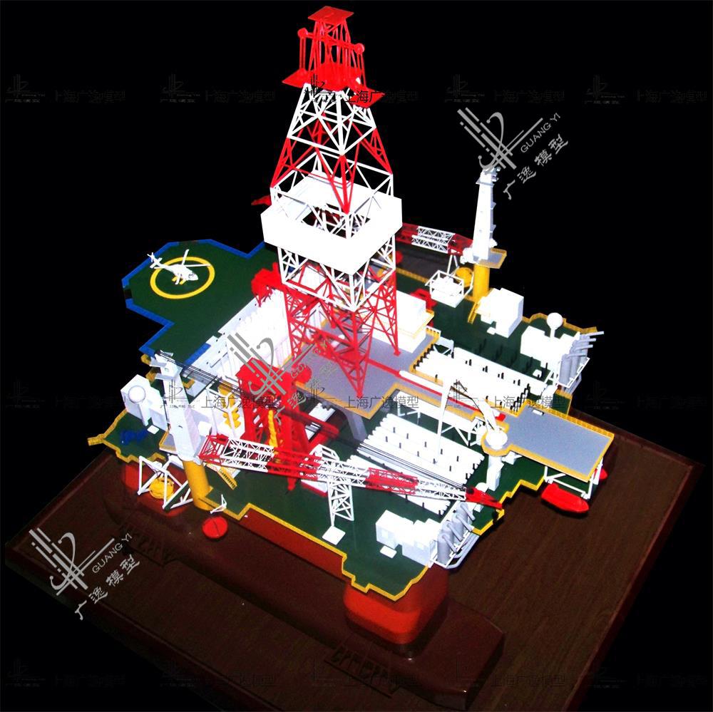 熔盛重工钻井平台模型