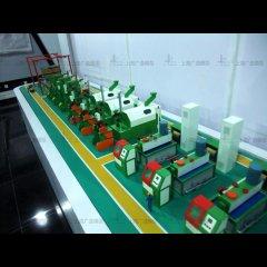 数控机床模型