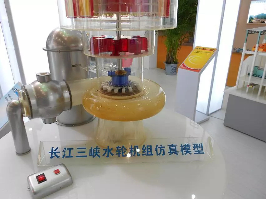 水轮机组模型