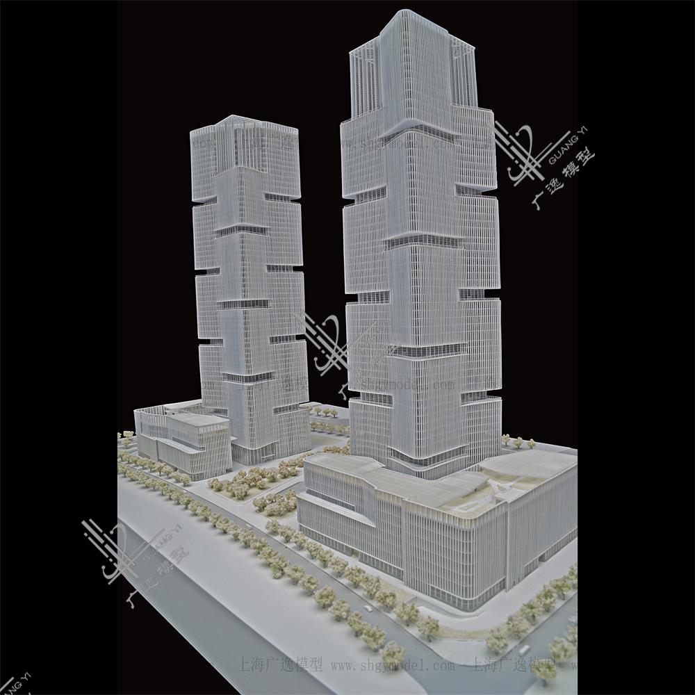 1:200绿地中心模型