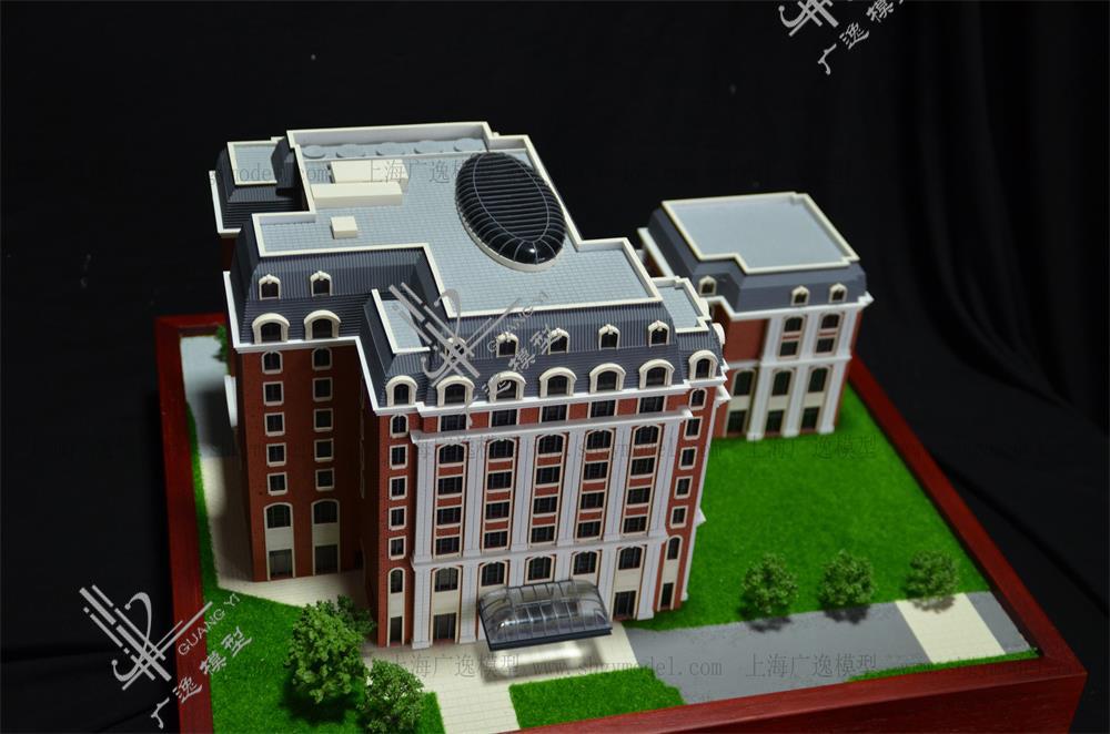 上海瑞金宾馆模型