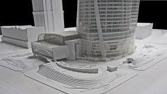 上海中心模型