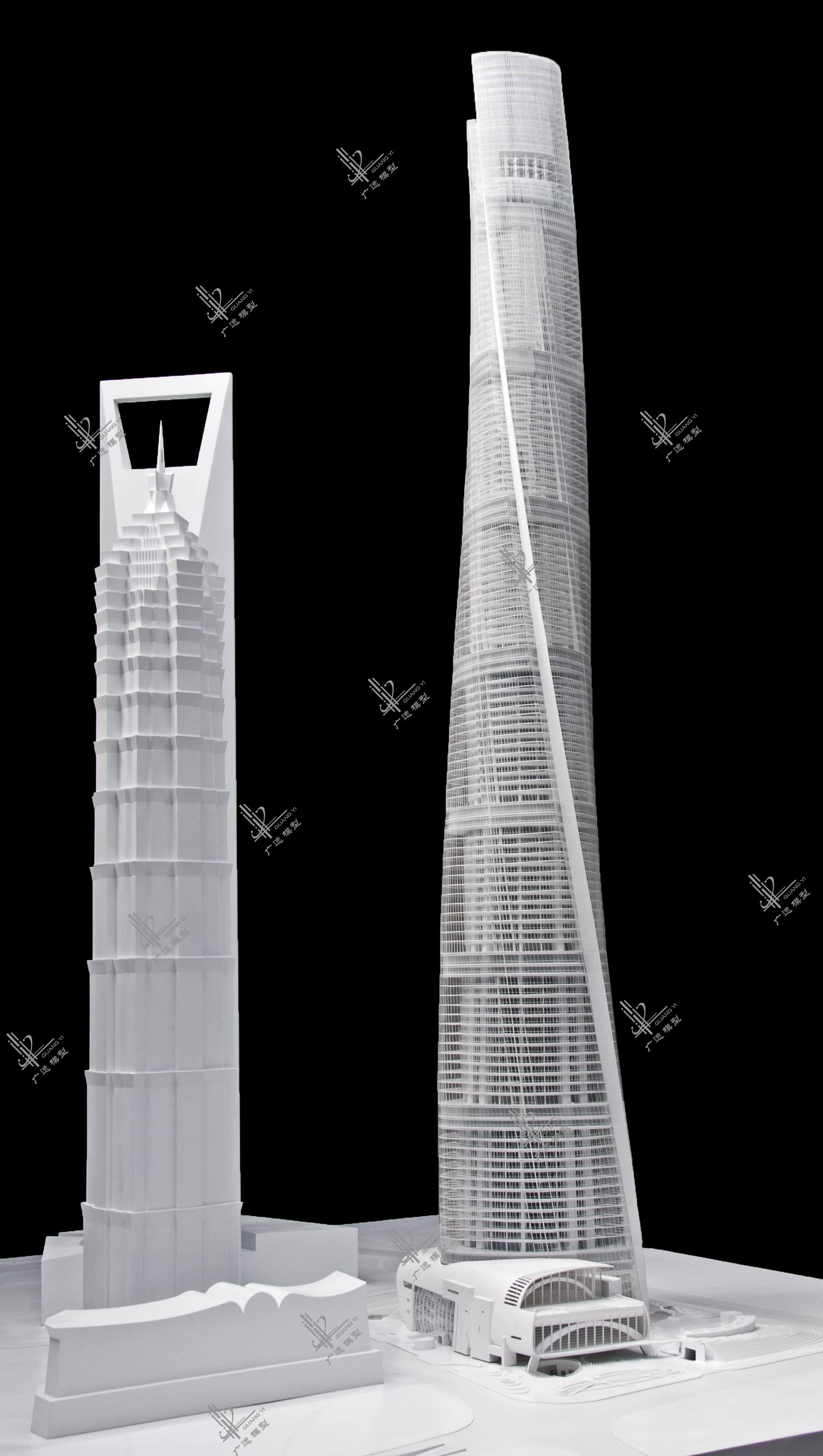 上海中心1模型
