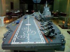瓦良格航母模型1