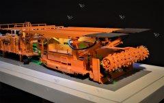 铁建重工掘锚机1模型