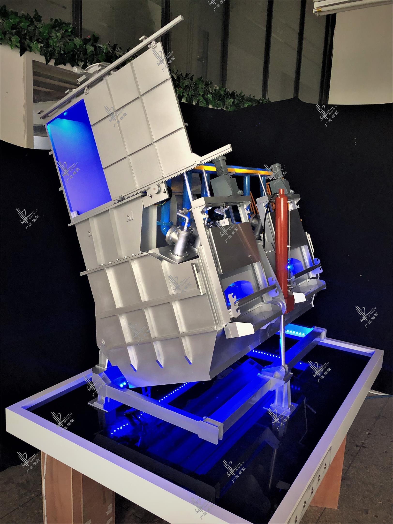 德国史杰克西熔炼炉模型