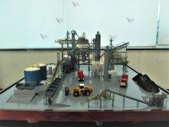 沥青机搅拌站模型
