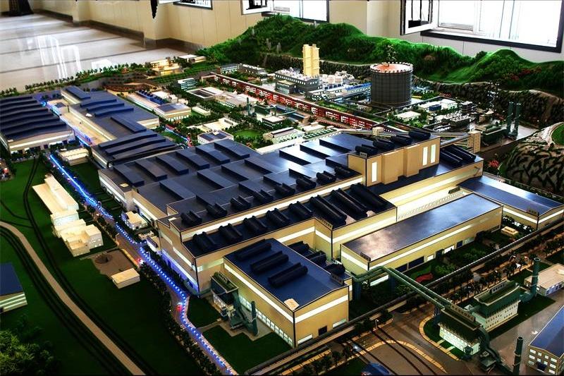 武钢厂区模型