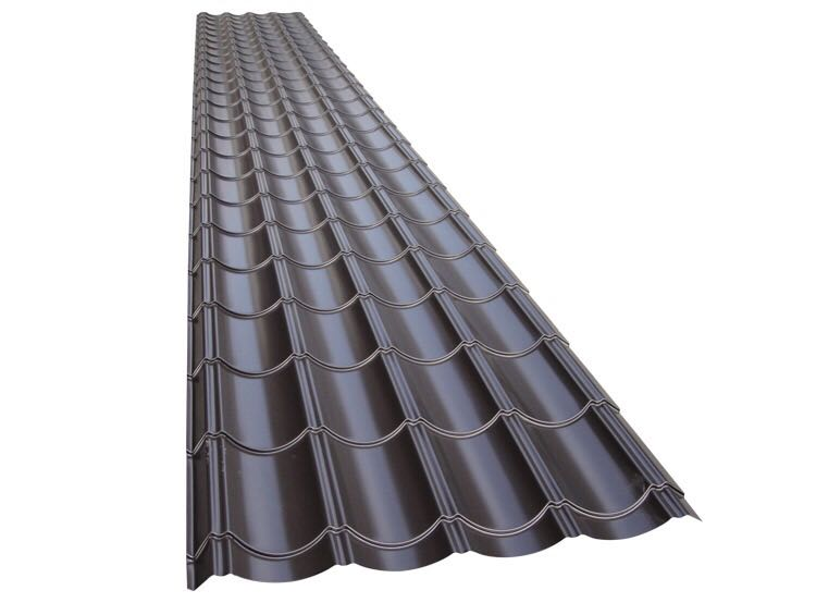贵州铝镁锰板YX28-207-828咖啡色玻璃瓦
