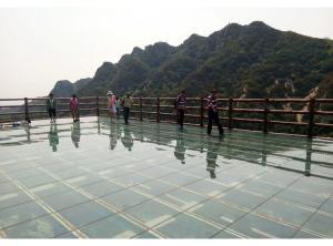 玻璃观景台