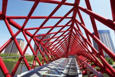 公园吊桥怎么设计?
