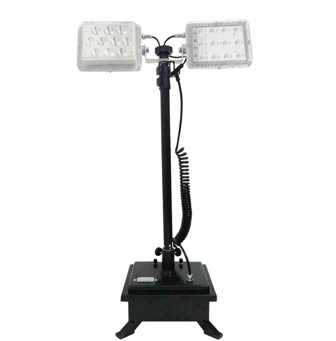 移动升降式强光工作灯,远光和泛光照明