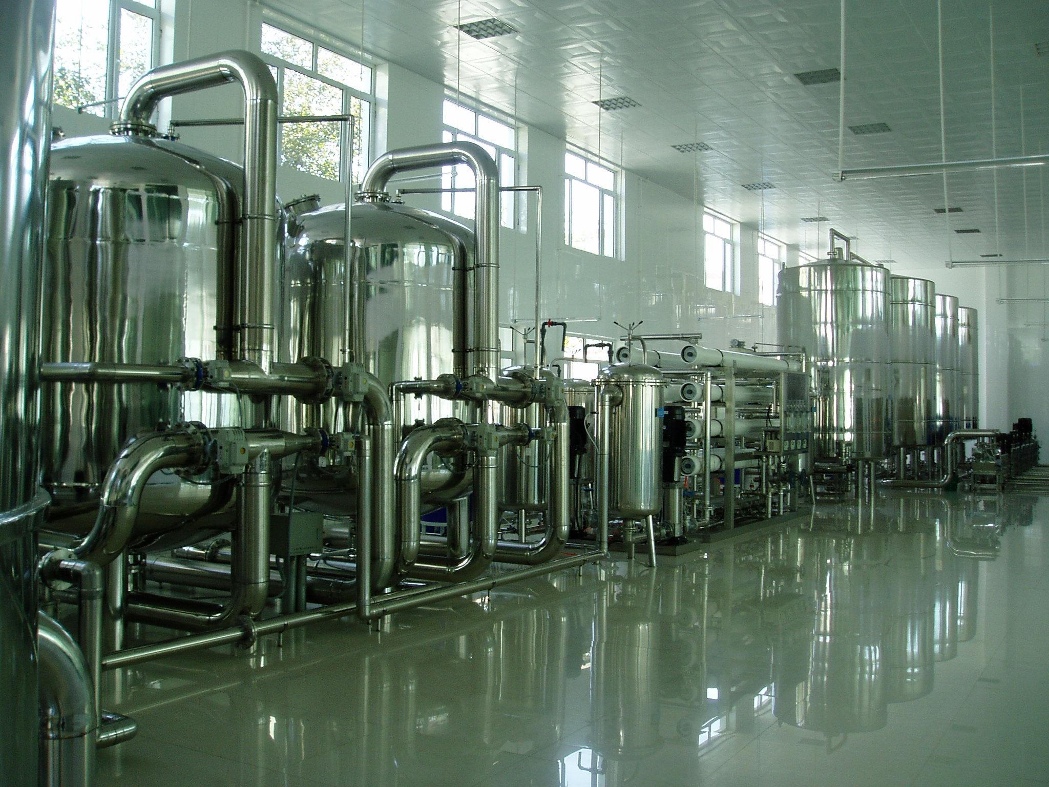 饮用净水设备及直饮水工程