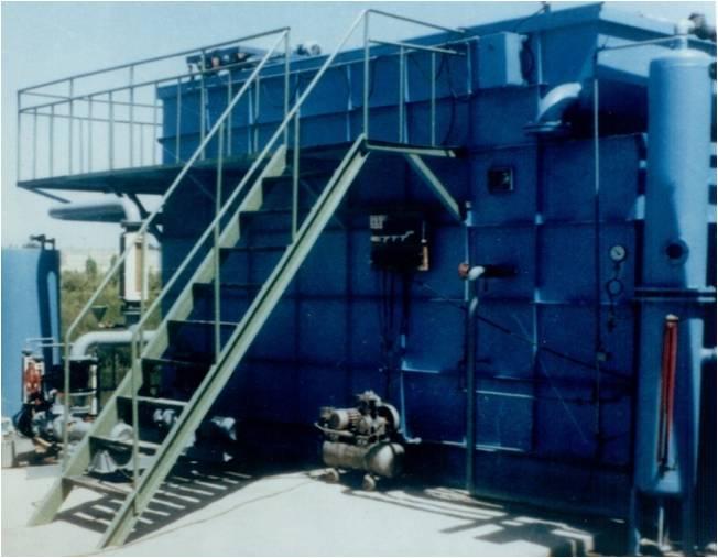 气浮反应分离器